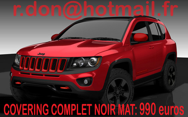 covering jeep compass jeep compass noir mat. Black Bedroom Furniture Sets. Home Design Ideas